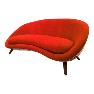 Jean Royere Documented Rarest « Oeuf » Couch For Sale