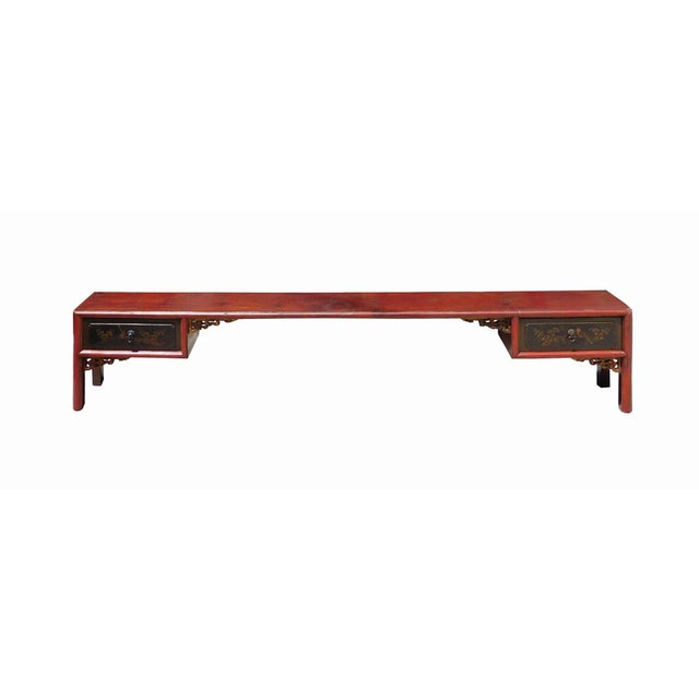 Chinese Vintage Altar Display Table Stands - Image 3 of 8