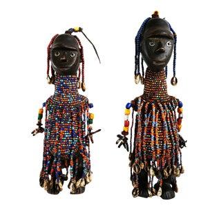 South Sudan Dinka Dolls - a Pair