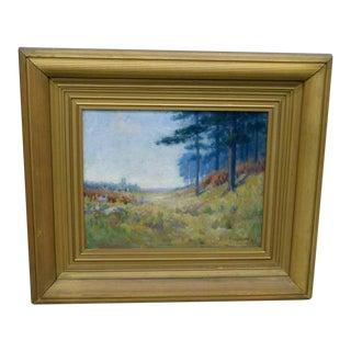 C.C. Rosenkranz Oil on Board Painting For Sale