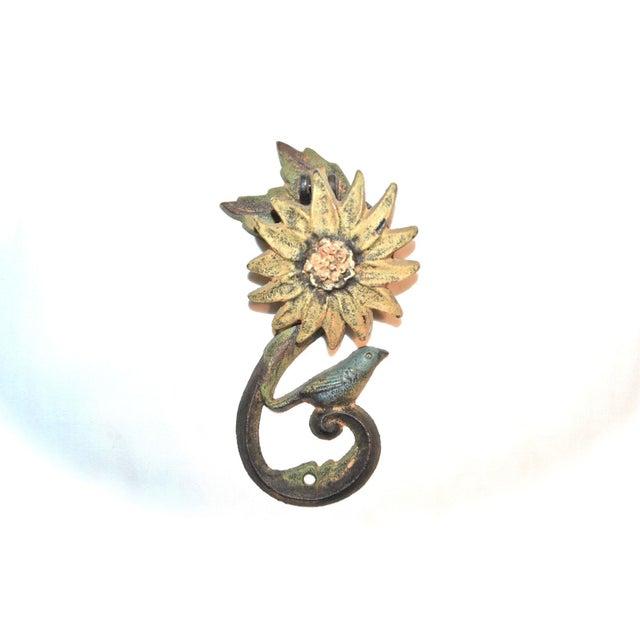 Sunflower & Bluebird Door Knocker - Image 8 of 9