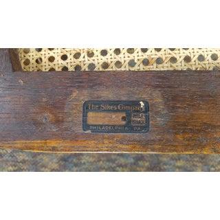 Sikes Antique Oak Adjustable Swivel Desk Chair Preview