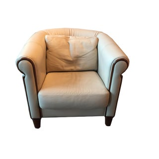 Italian Art Deco Style Club Chair For Sale