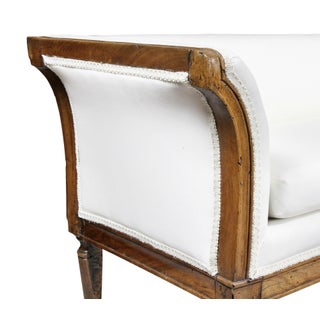 Directoire Walnut Settee Preview
