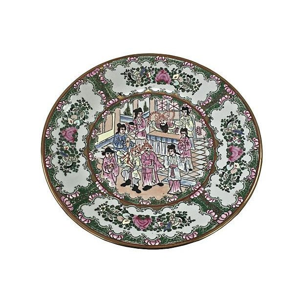 Antique Famille Wall Charger - Image 2 of 6