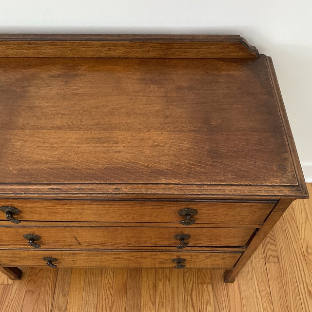 Antique English Chest of Drawers For Sale - Image 10 of 12