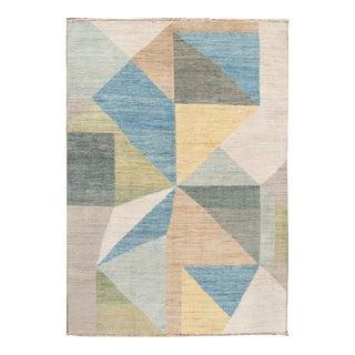 21st Century Modern Deco Wool Rug For Sale