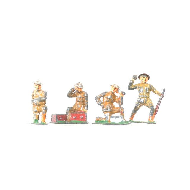 1940s Set of Lead War Toys - Image 1 of 6