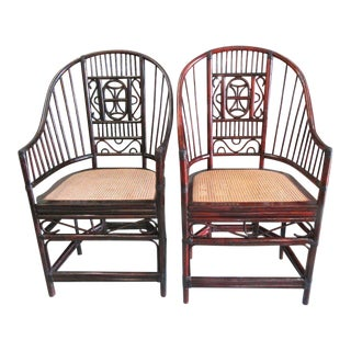 Brighton Style Pavilion Chairs - A Pair