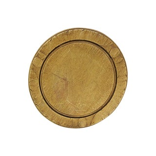 Antique Carved English Bread / Cheese Board