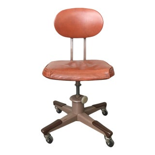 Vintage Mid Century Industrial Desk Chair by Royal Manufacturing Co. For Sale