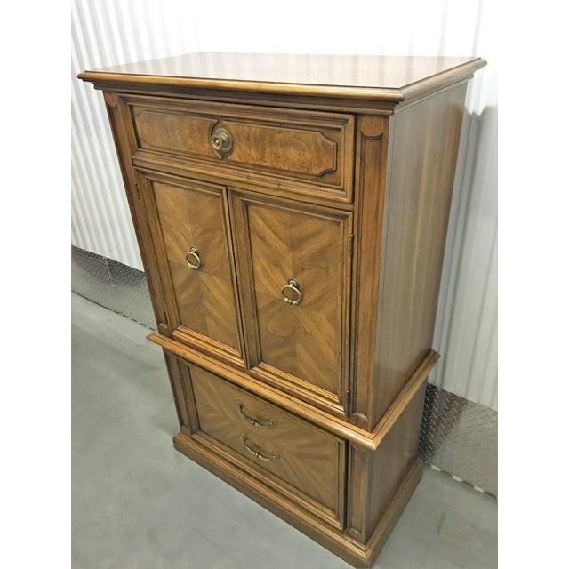 1969 Vintage Thomasville Tallboy Dresser For Sale In Chicago - Image 6 of 8