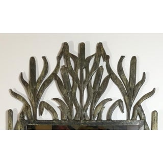 Abstract Hollywood Regency Iron Cat Tail Wall Mirror Preview