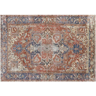 "Nalbandian - 1920s Persian Heriz Carpet - 8'3"" X 11'4"" For Sale"