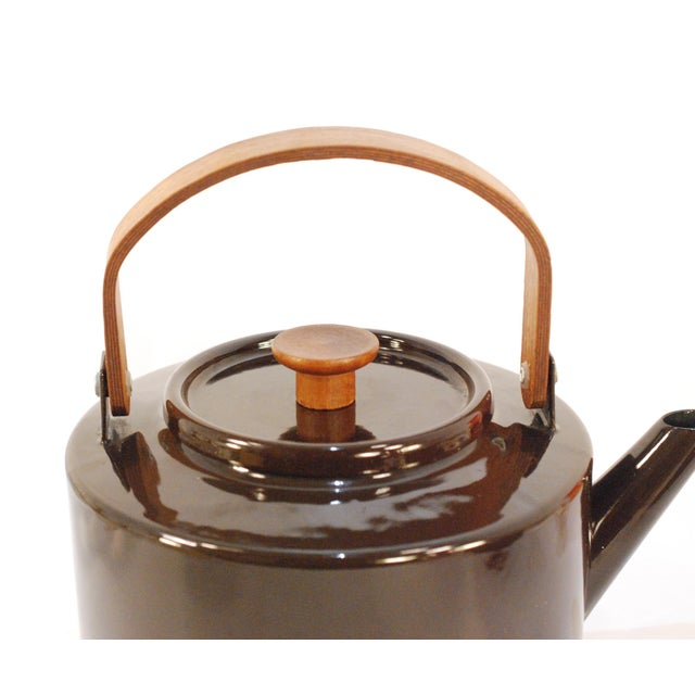 Copco Michael Lax Chocolate Brown #117 Tea Kettle - Image 3 of 11