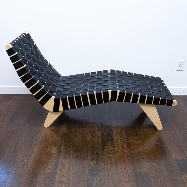 Klaus Grabe Style Chaise Longue For Sale - Image 9 of 11