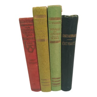 Vintage French Books - Set of 4