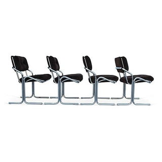 Jerry Johnson-Style Chairs - Set of 4
