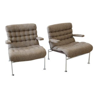 Bruno Mathsson for Dux 'Birgitta' Armchair - Pair For Sale