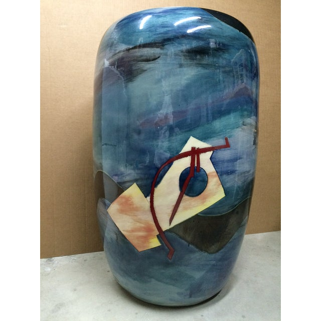 Contemporary Southwest Vessel/Vase - Image 5 of 7