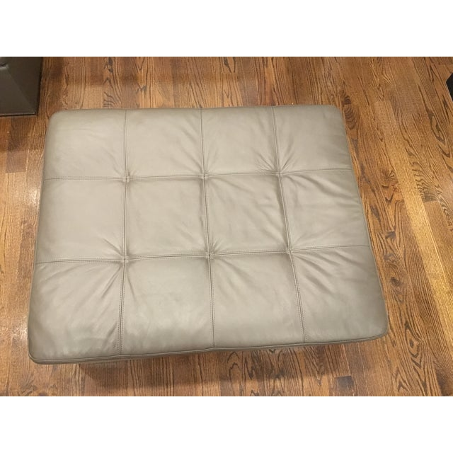 Leather Corner Sofa with Pillows - Image 5 of 7