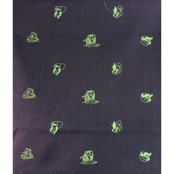 Chipp Irish Moygashel Safari Embroidery Linen Fabric - 2.7 Yards - Image 1 of 3