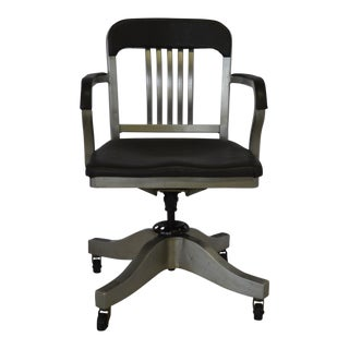 Mid-Century Modern Aluminum Goodform Office Chair