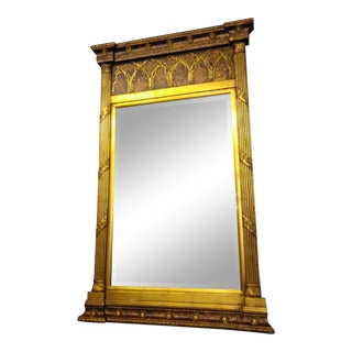 French Empire Beveled Mirror For Sale