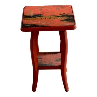 Chinoiserie Side Table For Sale