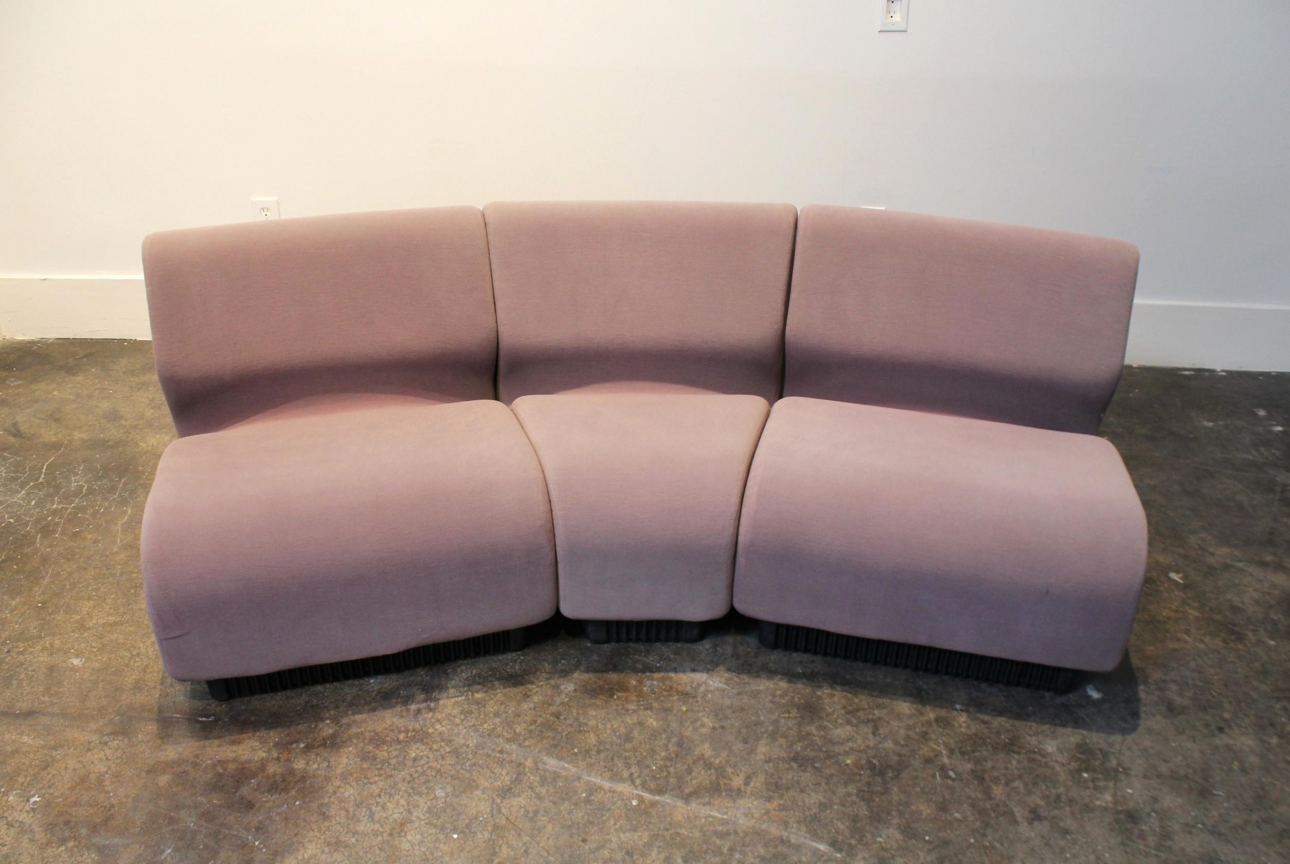 Modular Sofa Set Designed By Don Chadwick In The 1970u0027s And Manufactured By  Herman Miller In