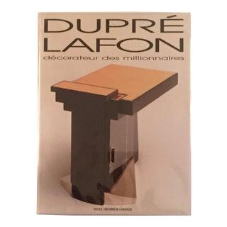 1990s Dupré-Lafon Decorateur Des Millionaires Book For Sale
