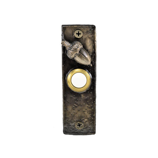 This particular doorbell is highlighted with half of our smallest Acorn. Each piece incorporates a standard lighted...