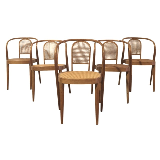 Vintage Thonet Stacking Chairs - Set of 5 - Image 1 of 6