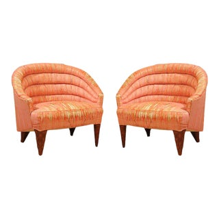 "Dunbar ""Janus"" Line Slipper Chairs For Sale"
