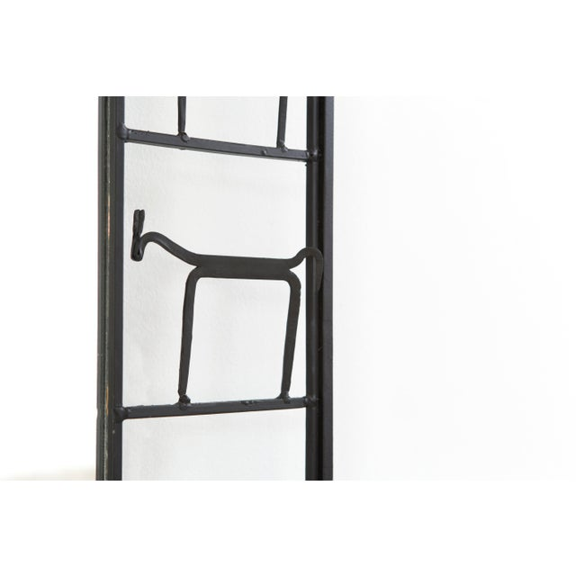 1950s Mid-Century Modern Mirror by Frederick Weinberg For Sale - Image 5 of 6