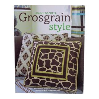 Personalized Copy, John Loecke's Grosgrain Style Book For Sale
