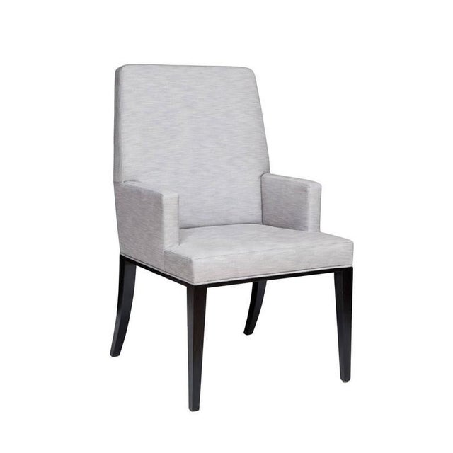 Modern Customizable Risto High Back Armchair For Sale - Image 3 of 6