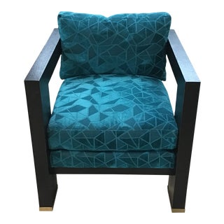 Caracole Squared Up Armchair For Sale