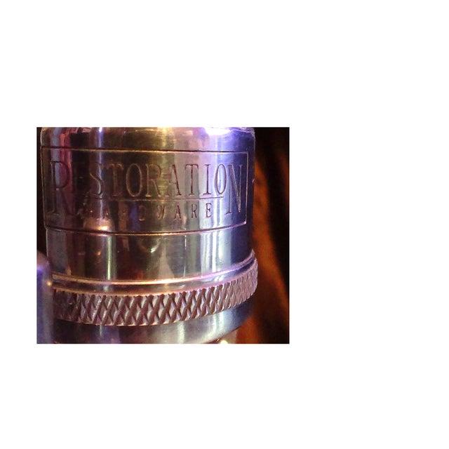 Restoration Hardware Crystal Ball Lamp - Image 7 of 8