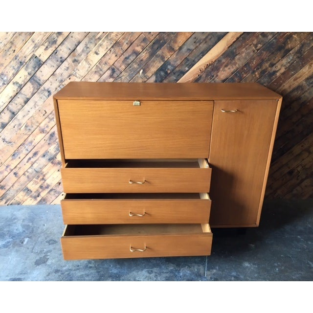 Mid-Century Modern Mid-Century Herman Miller Refinished Credenza For Sale - Image 3 of 7