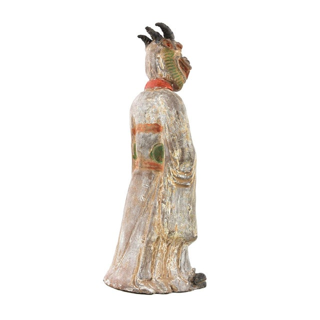 Antique Chinese Zodiac Dragon Figurine - Image 6 of 9