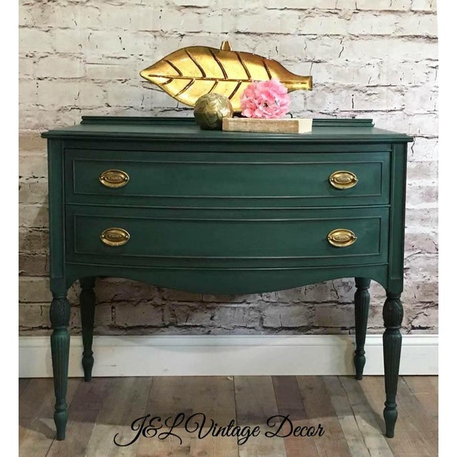 Green Buffet Server For Sale - Image 5 of 6