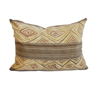 1940s African Mud Cloth Pillows - 25ʺW × 18ʺH For Sale