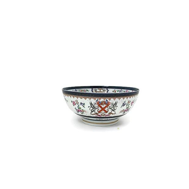 Large 19th-C French Porcelain Bowl - Image 2 of 6