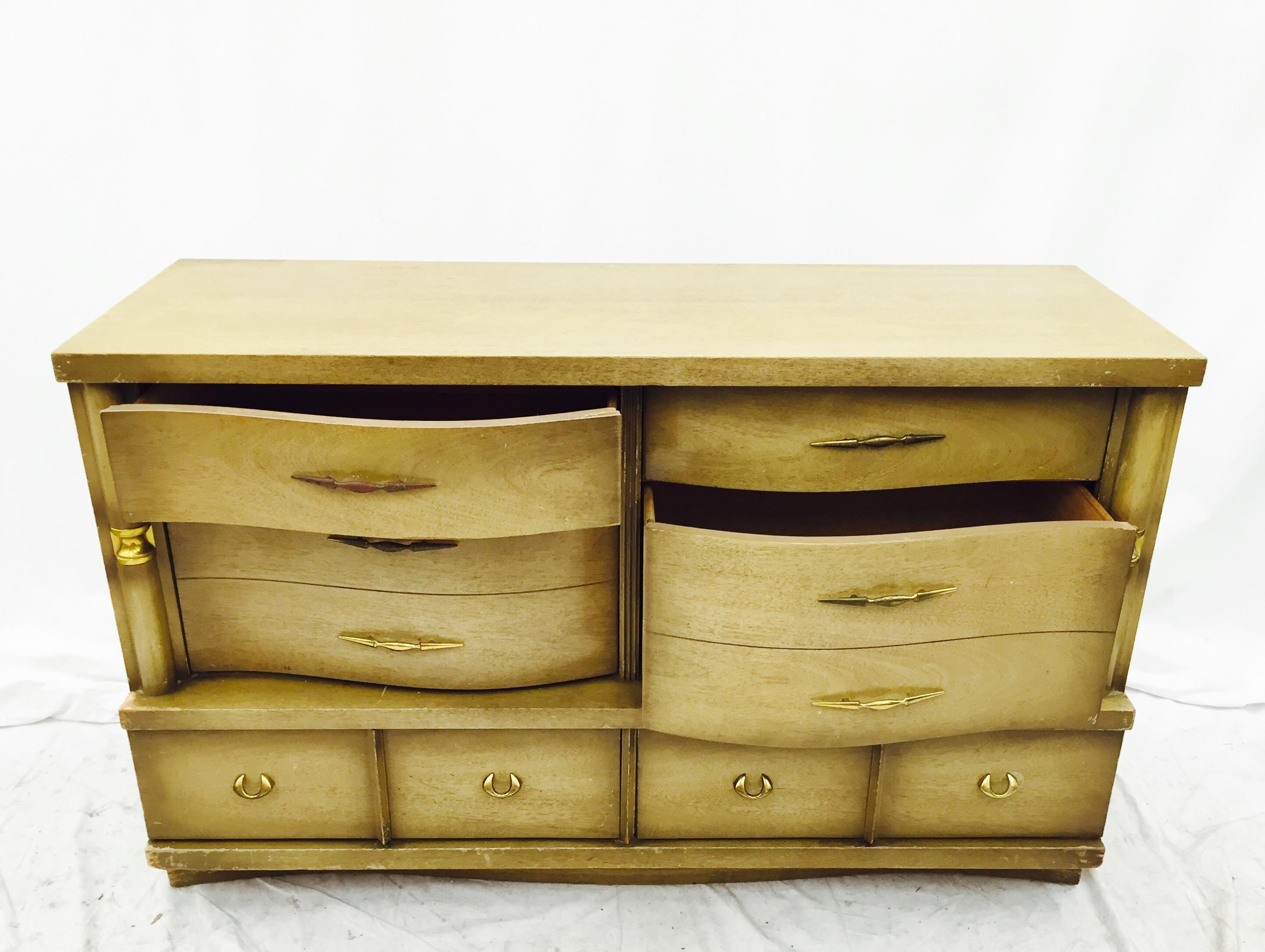 Incroyable Bassett Furniture Mid Century Dresser For Sale   Image 5 Of 11