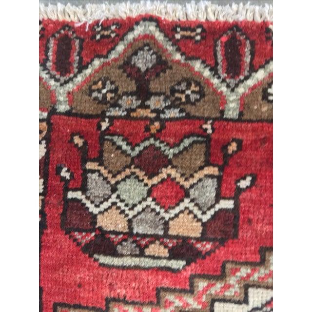 Vintage Hamadan Persian Rug - 3′6″ × 5′4″ - Image 8 of 9