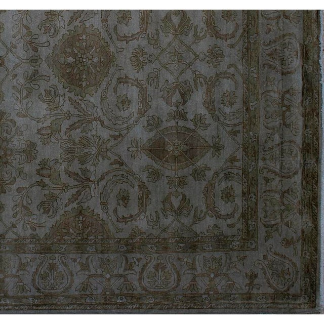 Over Dyed Color Reform Oretha GrayWool Rug - 8'2 X 10'0 A1435 For Sale In New York - Image 6 of 7