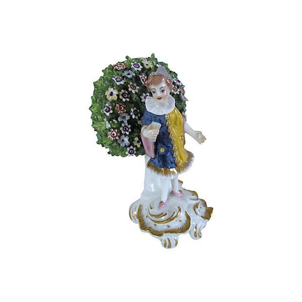 Antique English Derby Figures C. 1840 - Image 2 of 6