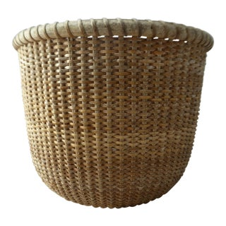 Vintage Nantucket Lightship Basket For Sale