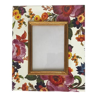 Large Mackenzie-Childs Botanical Picture Frame